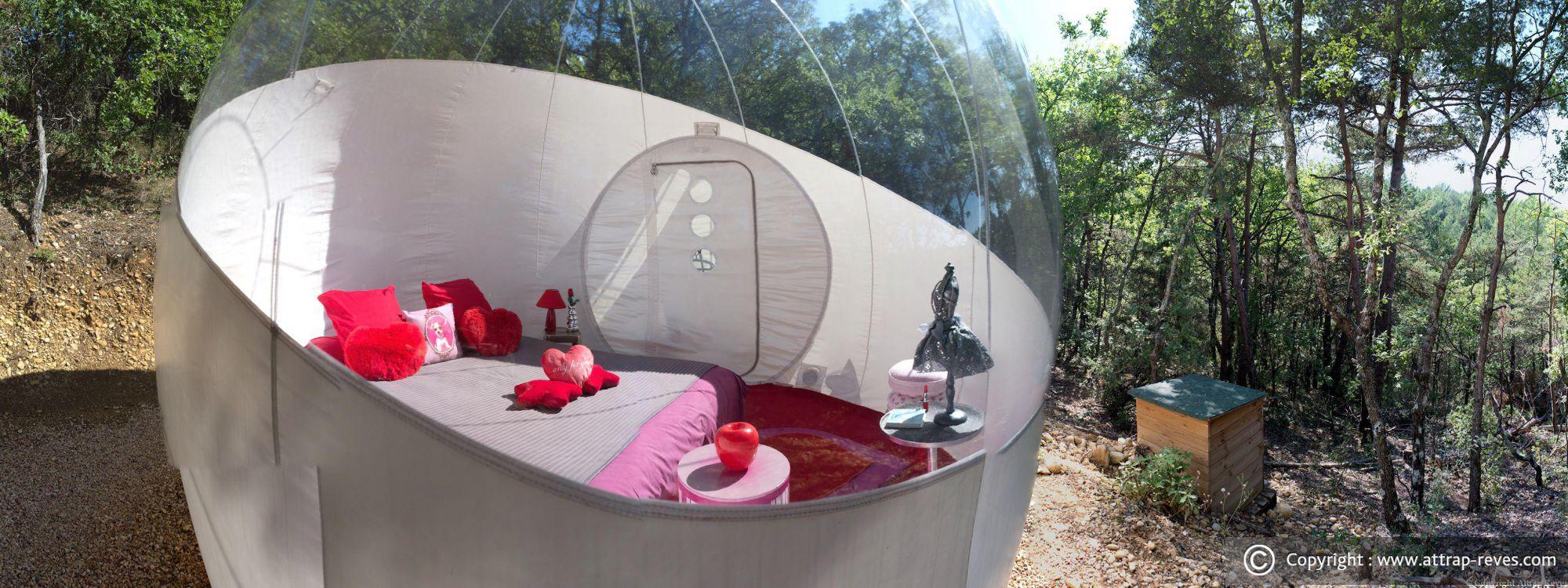 Dormir dans une bulle à attrap'rÊves montagnac   montpezat pour ...